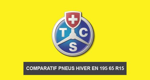 Comparatif pneus hiver 195 65 R15 du TCS saison 2014/2015