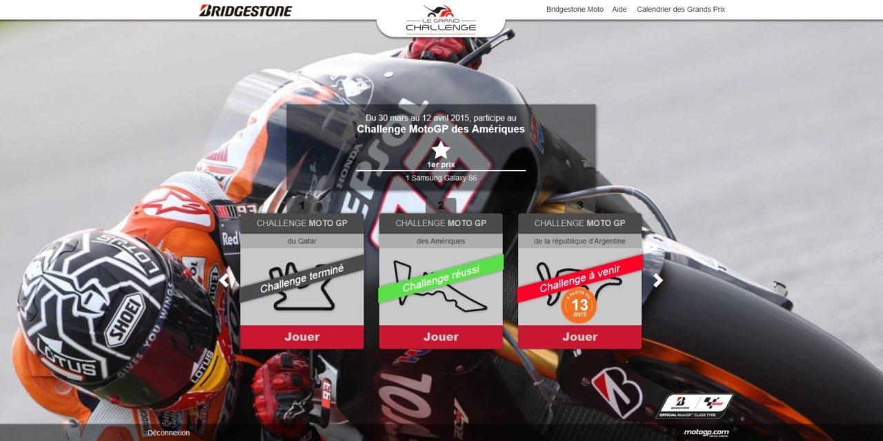 MotoGP 2015 : retour sur le Qatar et un concours Bridgestone