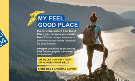 Edito #104 : My Feel Good Place (on joue pour gagner un tour du monde !)