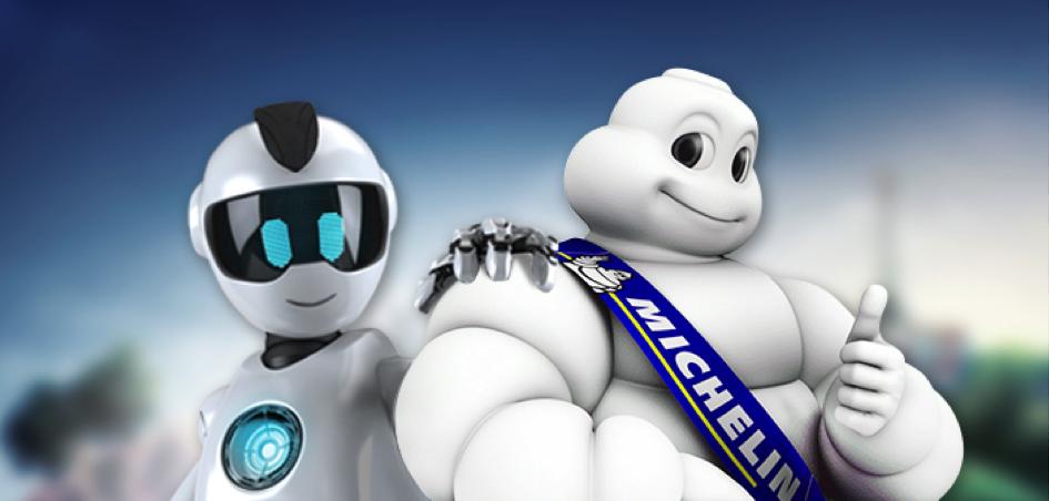 Bibendum de Michelin sacré mascotte du millénaire !
