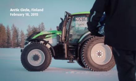 Record fou de Nokian : le tracteur le plus rapide du monde !