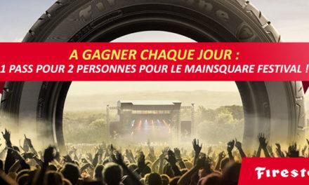 Edito #106 : Jeu Firestone pour gagner des pass festival