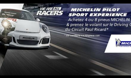 Le programme Pilot Sport Experience de Michelin