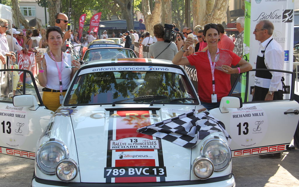Rallye des Princesses 2015 : Interview de Stéphanie, participante à la course