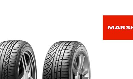 Marshal : la gamme de pneus