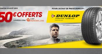 Edito #114 : du Dunlop et du Cap Adrénaline sur le site pour un été sportif !