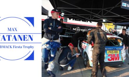 Max Vatanen, prêt à remporter le Drive DMACK Fiesta Trophy 2015