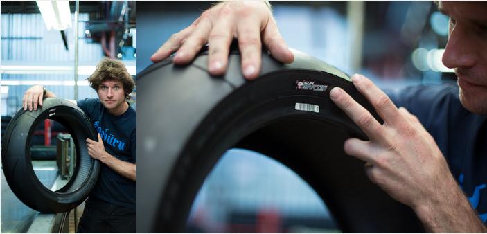 Le pneu Racetec RR de Metzeler à l'effigie de Guy Martin