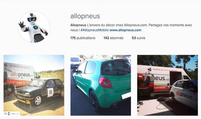 instagram allopneus