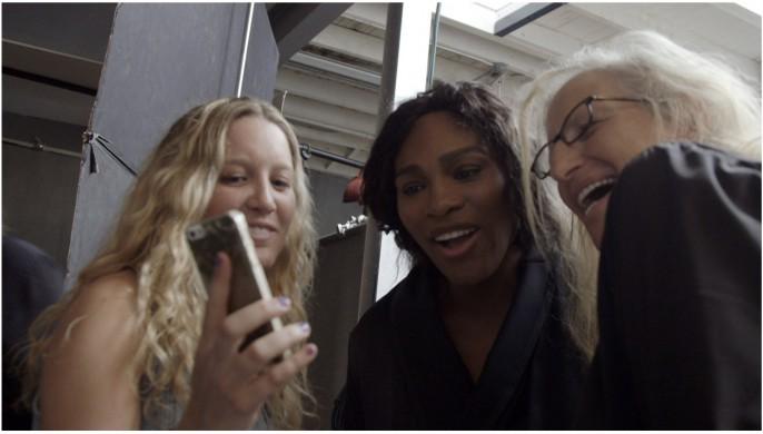 Serena Williams, quon voit se dénuder sur la vidéo des coulisses