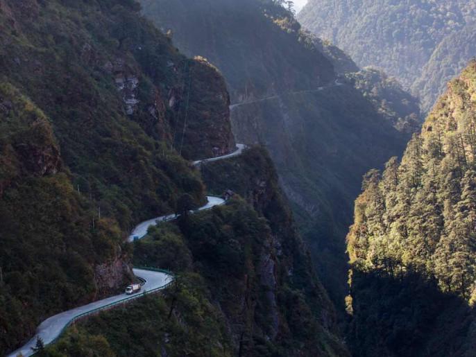 Route de Lhassa à Katmandou