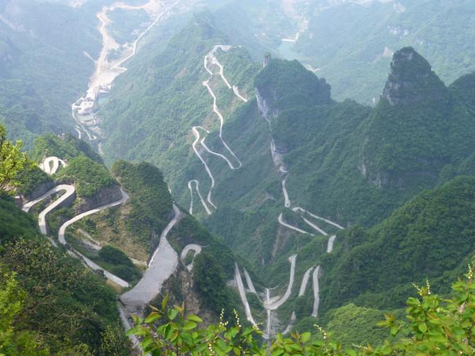 Route de Tian Men Shan 2