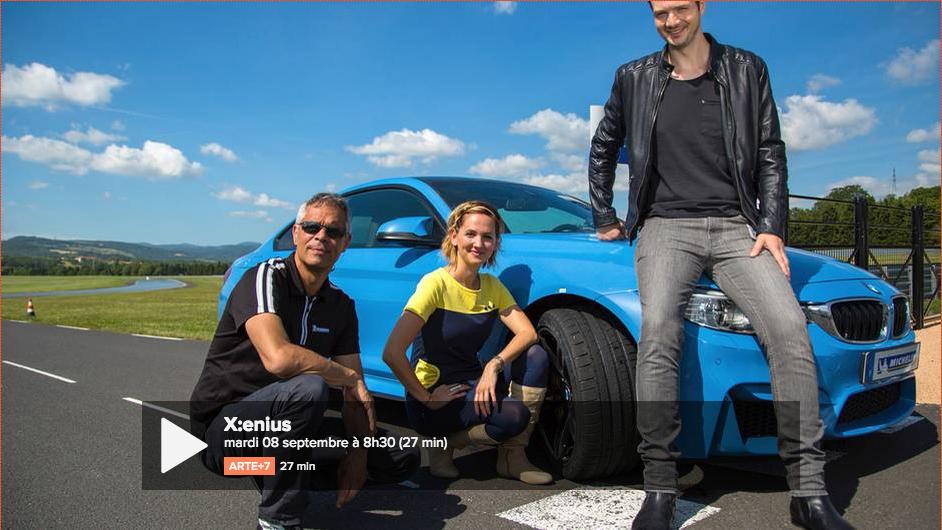 La vidéo de la fabrication d'un pneu dans une usine Michelin