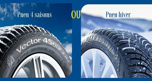 Pour cet hiver : Goodyear Ultragrip 9 ou Goodyear Vector 4 seasons ?