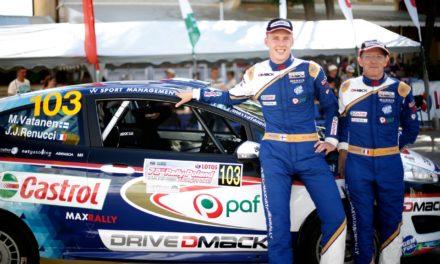 Max Vatanen au WRC de Catalogne pour la victoire au Drive Dmack Fiesta Trophy
