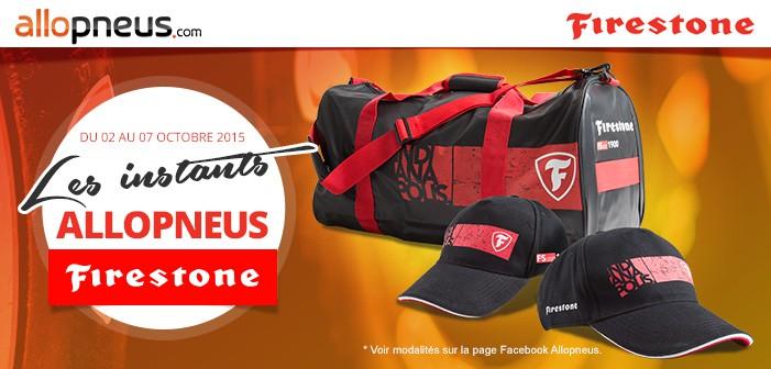 Edito #117 : on gagne des sacs de sport et des casquettes Firestone !