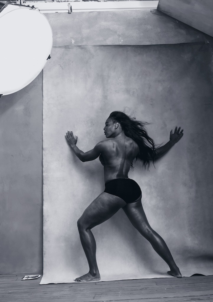 Pirelli Calendar 2016 - April - SERENA WILLIAMS Pirelli - copie