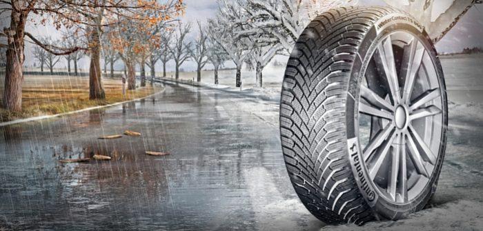 Nouveau pneu hiver Continental TS 860