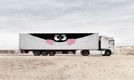 Truck art projet – Quand le Fret et l'art contemporain se rencontrent