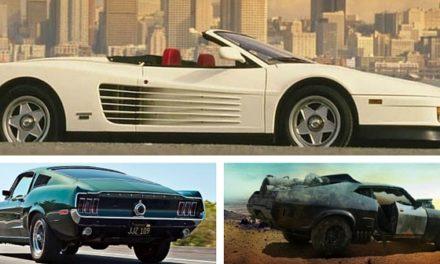10 voitures qui ont marqué le cinéma et les séries