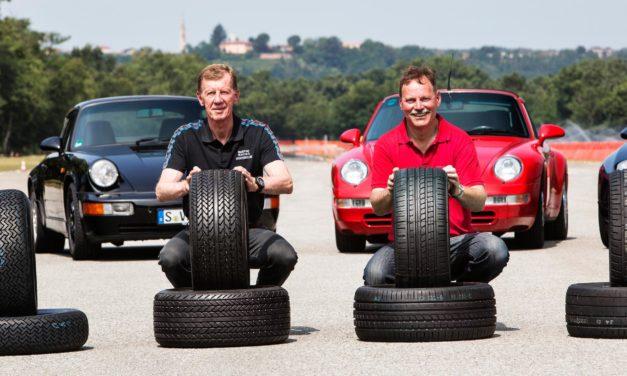 Porsche s'est associé à Pirelli pour produire des pneus pour les Porsche classiques