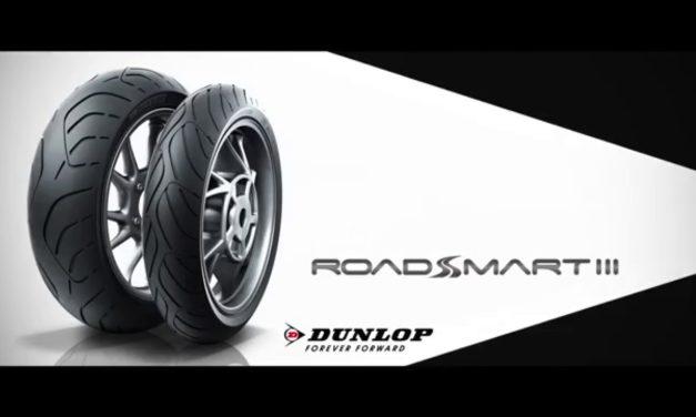 Nouveauté pneu moto 2016 : Dunlop Sportmax Roadsmart III