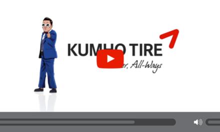 Kumho Tire s'associe à Psy pour leur nouvelle publicité