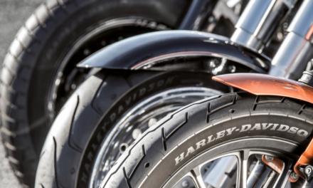 MICHELIN Scorcher : 1er pneu moto MICHELIN pour Harley-Davidson