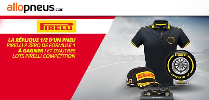 Edito #131 : Pirelli vous fait gagner une réplique de pneu F1 !