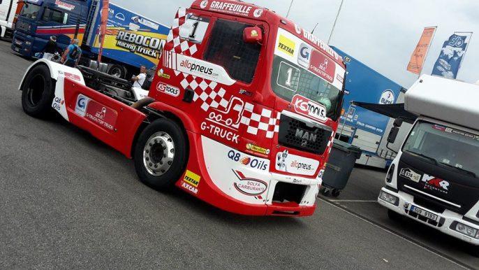Camion team Robineau