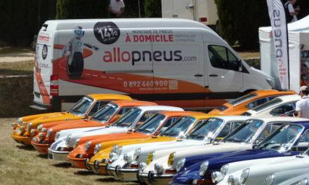 Fête des Classics Porsche 2016 : toujours avec Allopneus
