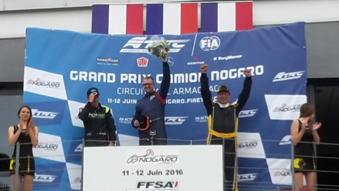 Photo podium nogaro