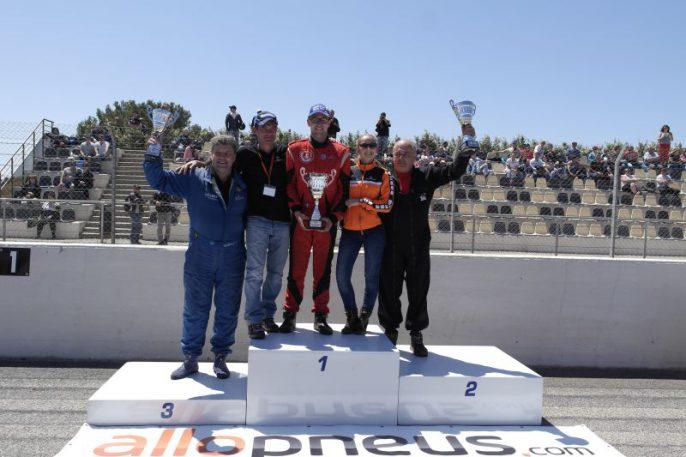 Podium GP Castellet