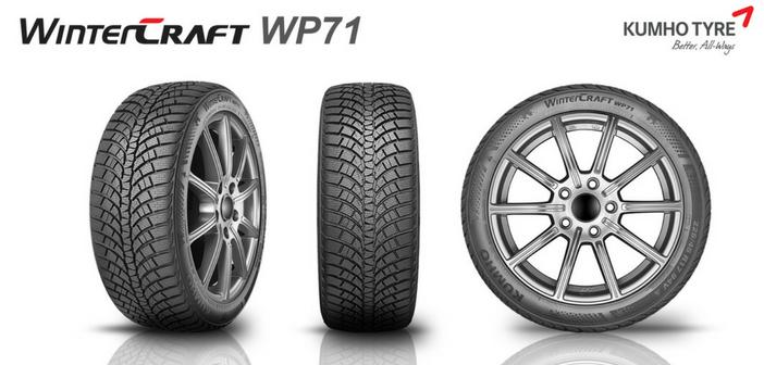 Nouveau pneu Kumho Wintercraft WP71 : pour l'hiver