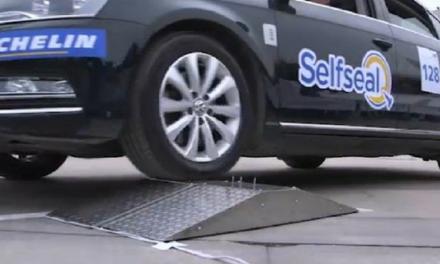 SelfSeal, le pneu auto-réparant de Michelin