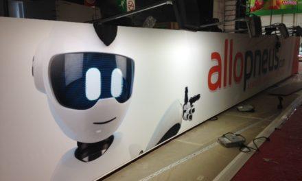 Mondial de l'Auto 2016 : le montage du stand Allopneus !
