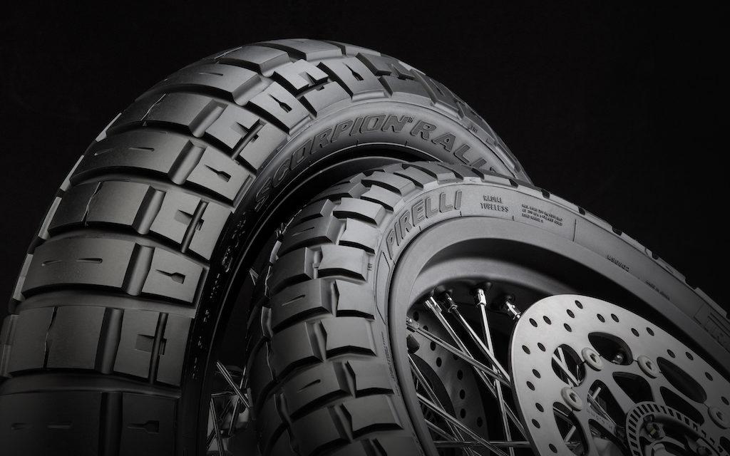 Nouveau pneu moto trail : le Pirelli Rally STR
