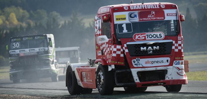 Le Team Robineau, Champion de France des Camions avec Allopneus