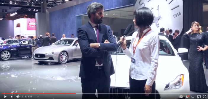 Mondial de l'Auto 2016 : avec Pirelli