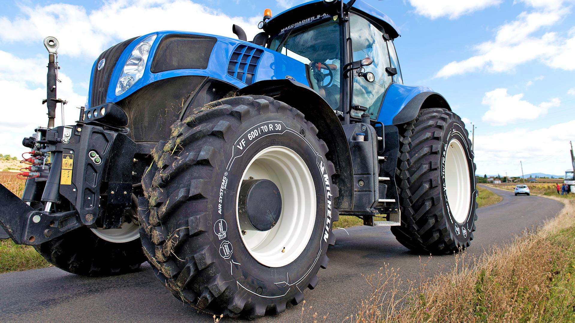 Agricole : le pneu qui se transforme, par Michelin