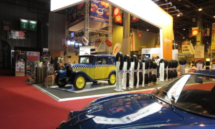 Allopneus au Retromobile 2017