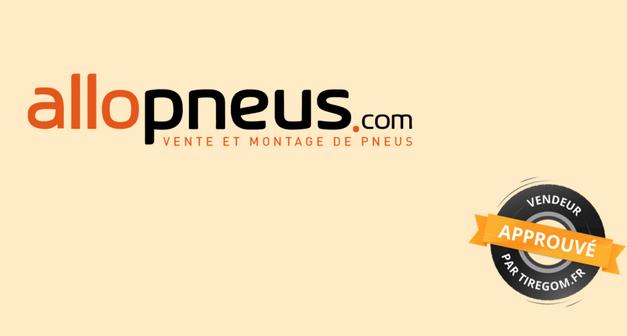Allopneus : vendeur approuvé par le comparateur de pneus Tiregom