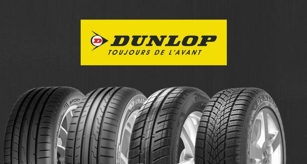 La gamme Dunlop