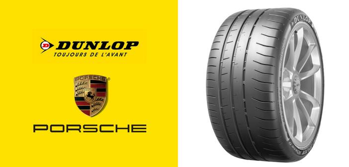 Porsche a choisi les pneus Dunlop Sport Maxx Race 2 pour sa 911 GT3