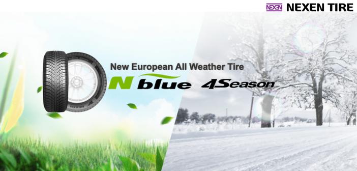 nouveau pneu toutes saisons chez nexen avec le n 39 blue 4season chewing gomme. Black Bedroom Furniture Sets. Home Design Ideas