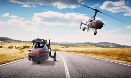 La voiture volante existe, et ce n'est pas de la science fiction !
