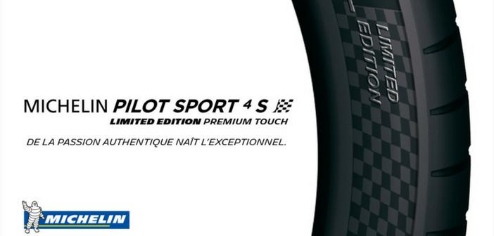 Inédit : le MICHELIN Pilot Sport 4S Limited Edition Premium Touch