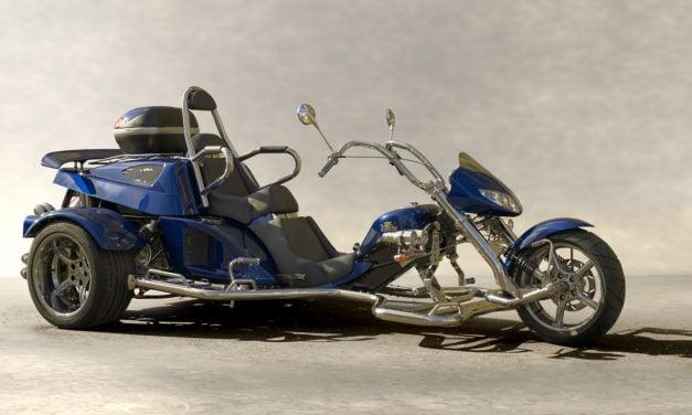 Parlons des «Trikes», ces motos à trois roues