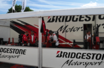 Stand Bridgestone au Bol d'Or 2017