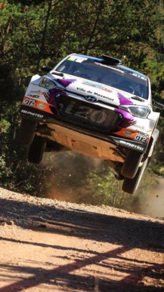 Rallye Terre des Cardabelles avec les pneus Dmack